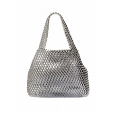 Reversible Silver/White Beach Bag