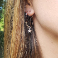 Superstar Hoop Earrings