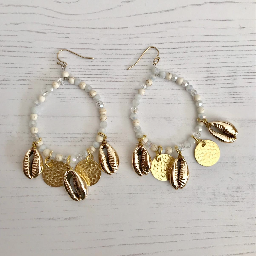 Casablanca Shell Earrings