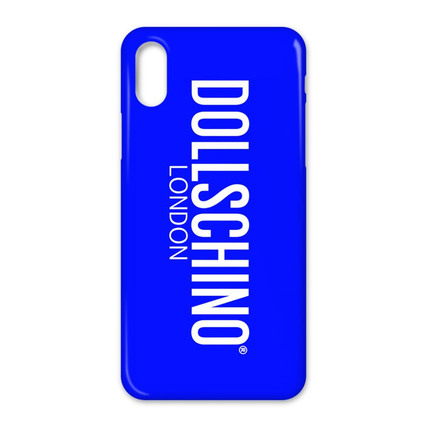 Dollschino London Neon Blue Phone Case