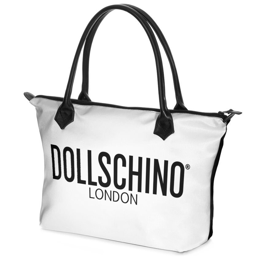 Black & White Dollschino London Handbag