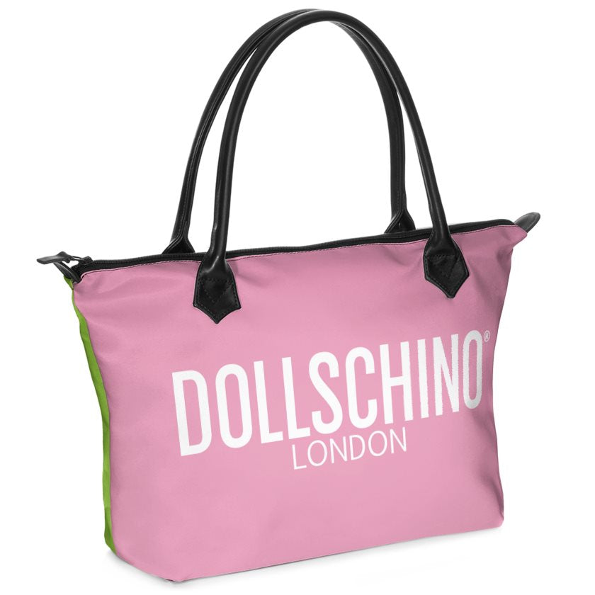 Dollschino London Lime & Pink Cocktail Handbag
