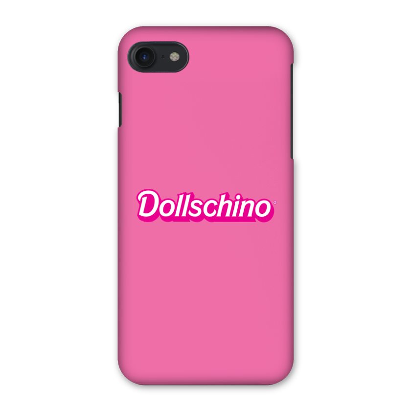 Dollschino London Barbalicious Bubblegum Pink Doll iPhone Case