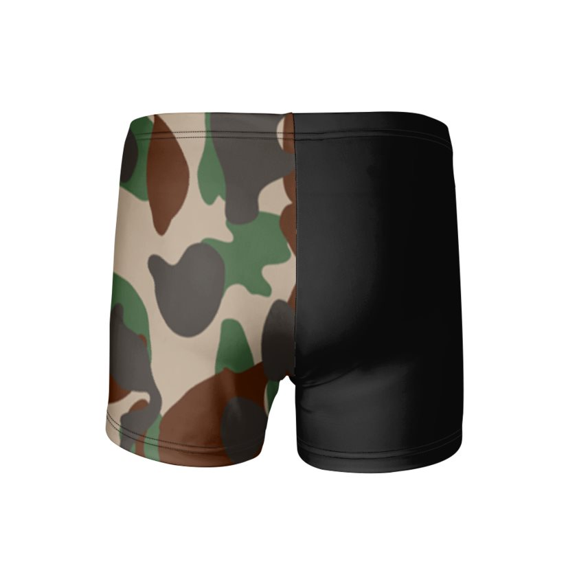 Dollschino London Mens Camo & Black Trunks