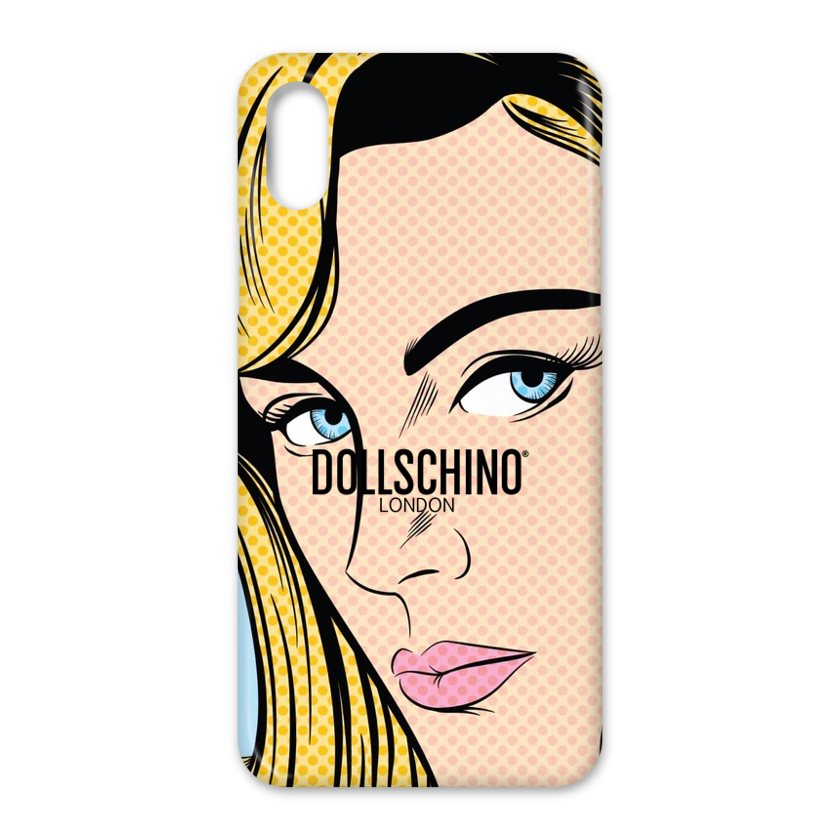 Dollschino London Blonde Pop Art Girl iPhone Case