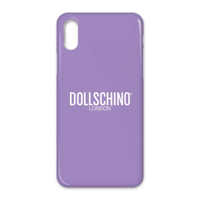 Dollschino London Purple iPhone Case