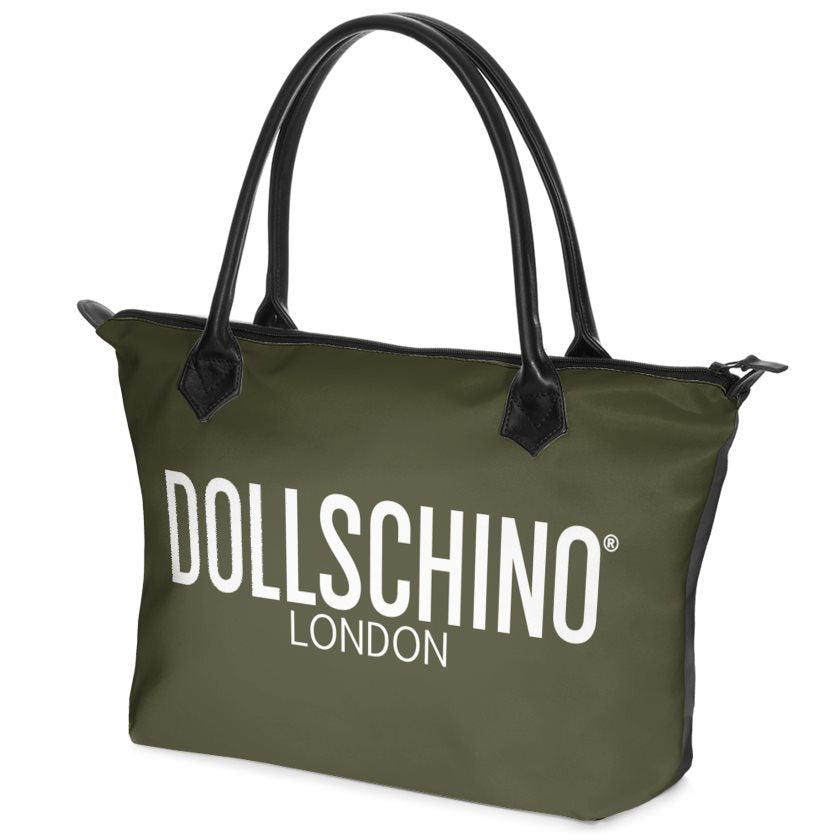 Khaki Green Dollschino Handbag