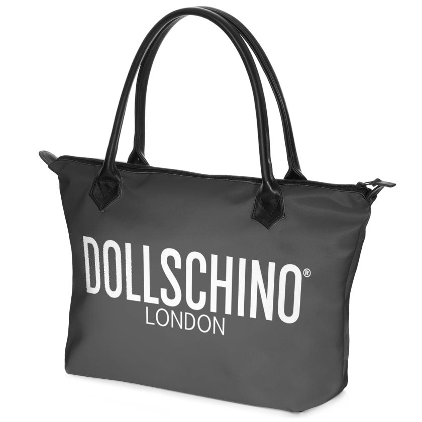 Dark Grey Dollschino London Handbag