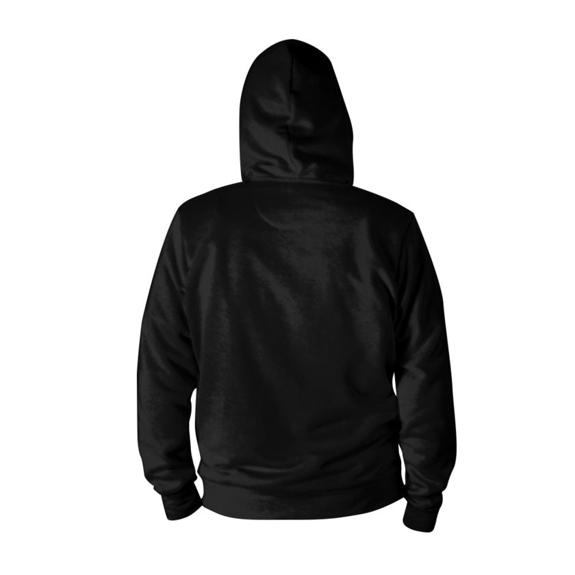Dollschino London Faith Couture Jet Black Pull-Over Hoodie