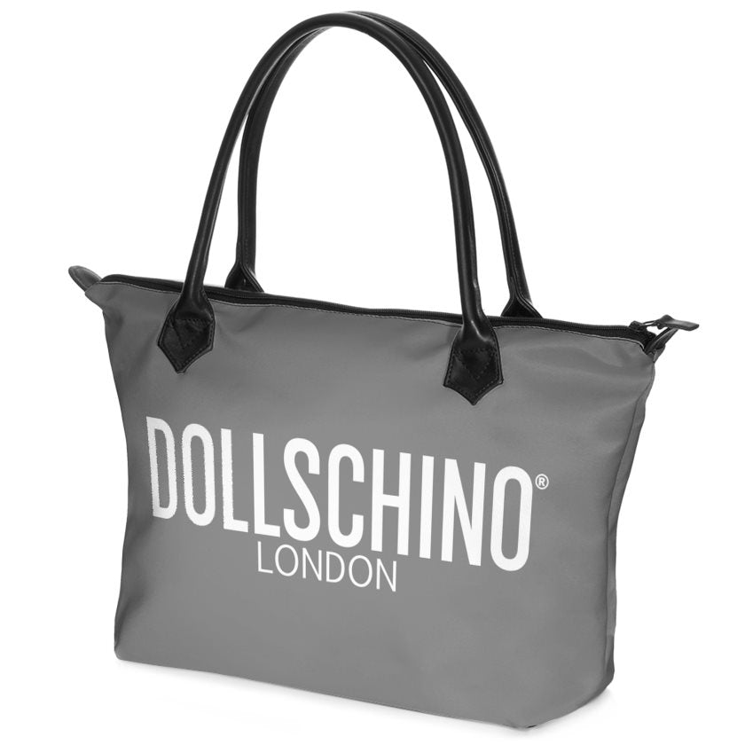 Charcoal Grey Dollschino London Handbag