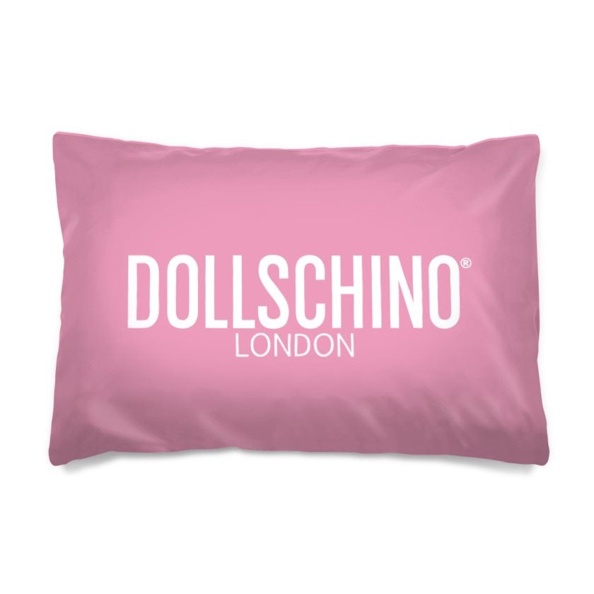 Dollschino London Baby Pink Pillow Case
