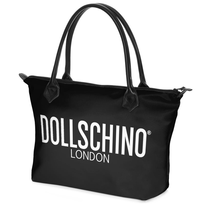 Black Dollschino London Handbag