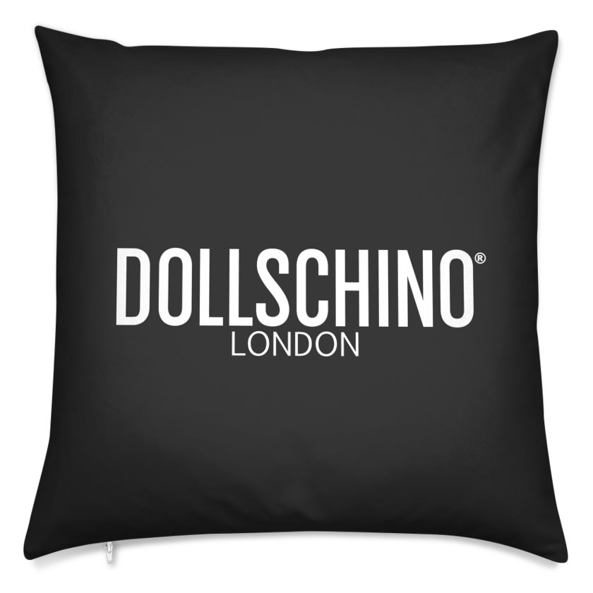 Dollschino London Black Cushion