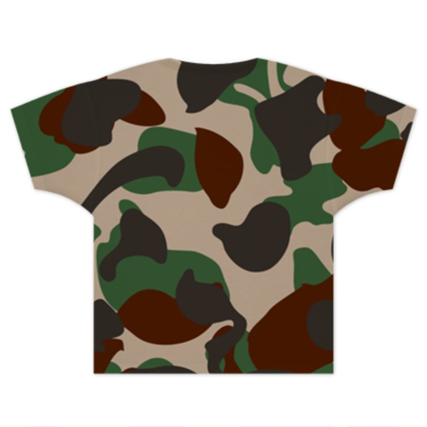 Dollschino London Kids Camo T-Shirt