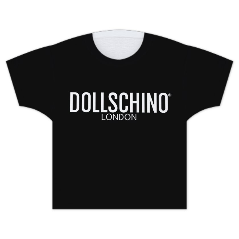 Dollschino London Black Kids T-Shirt