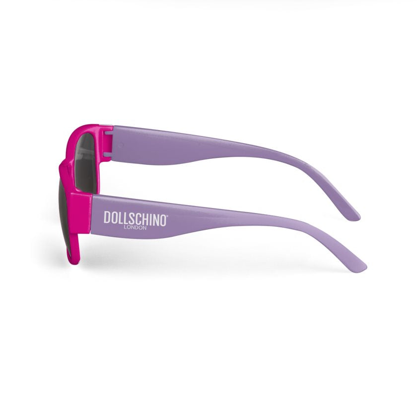 Hot Pink & Lilac Dollschino Sunglasses