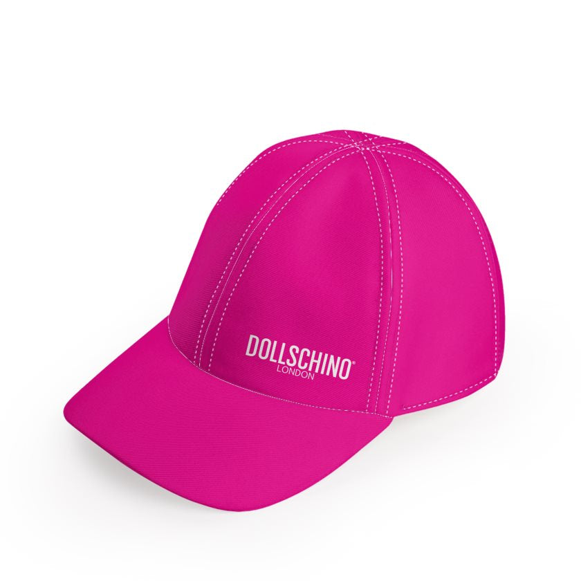 Dollschino London Hot Pink Baseball Cap