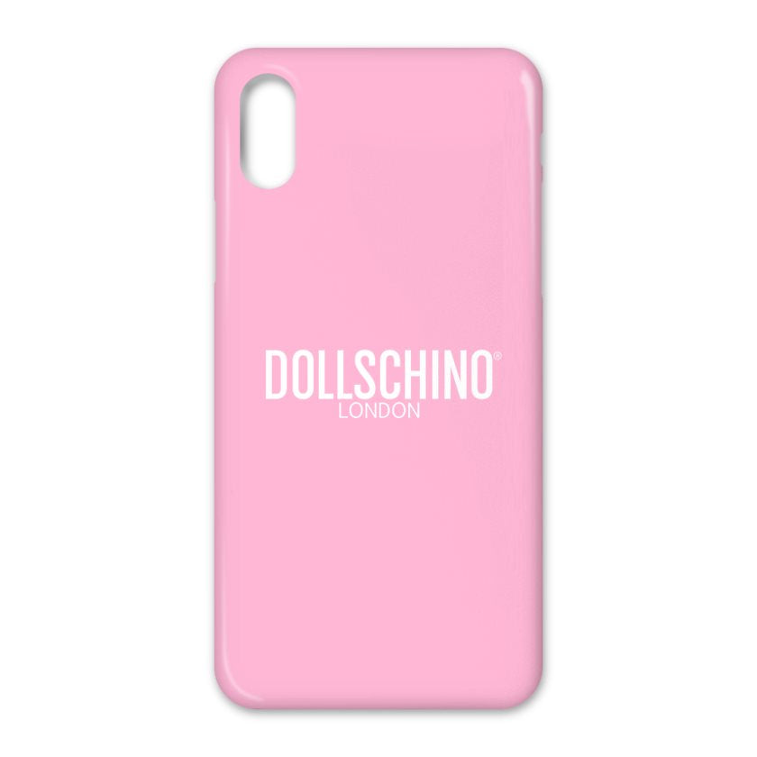 Dollschino London Baby Pink iPhone Case