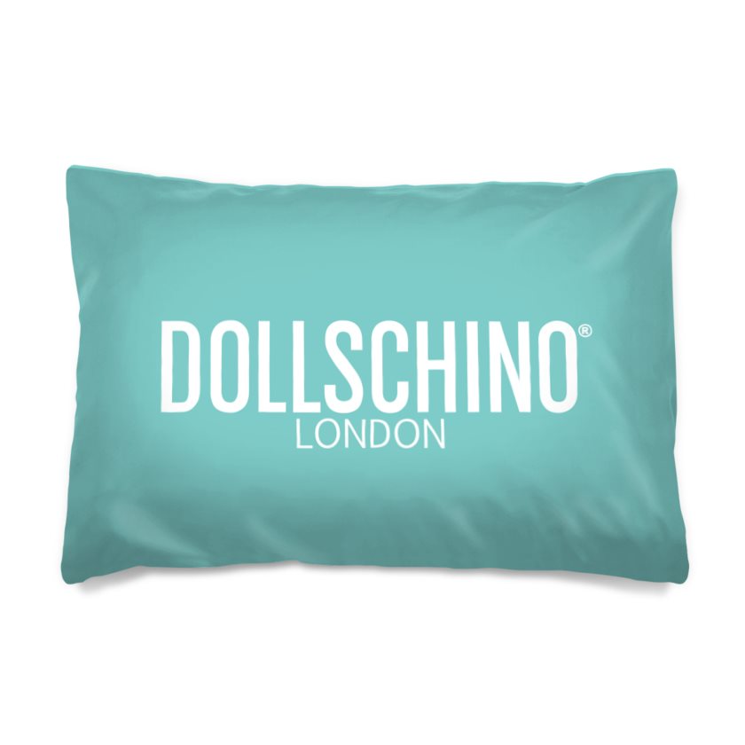 Dollschino London Peppermint Pillow Case