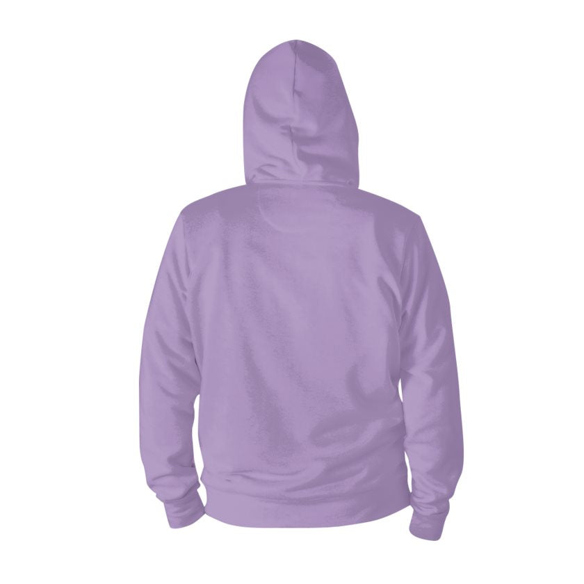 Dollschino London Purple Zip Hoodie