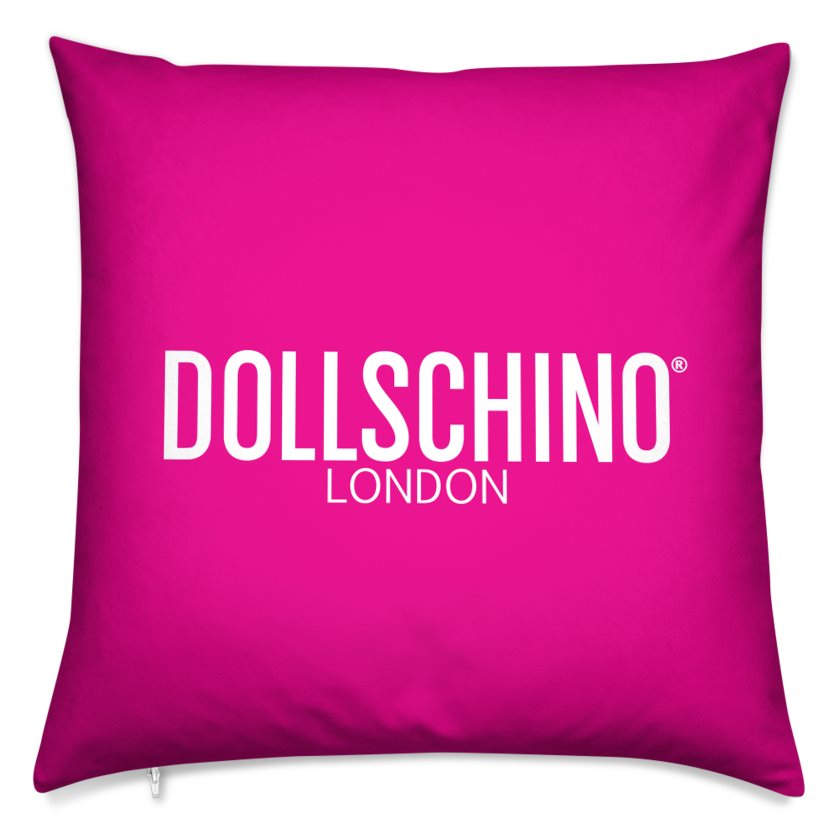 Dollschino London Hot Pink Cushion