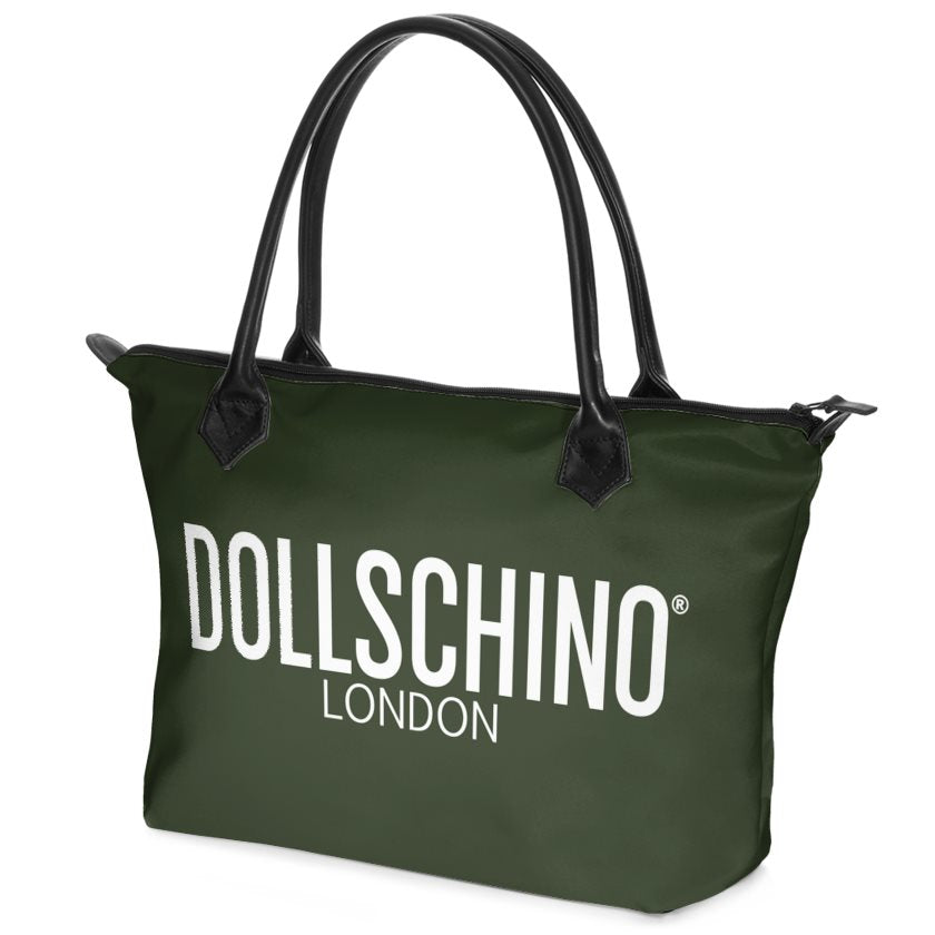 Olive Green Dollschino London Handbag