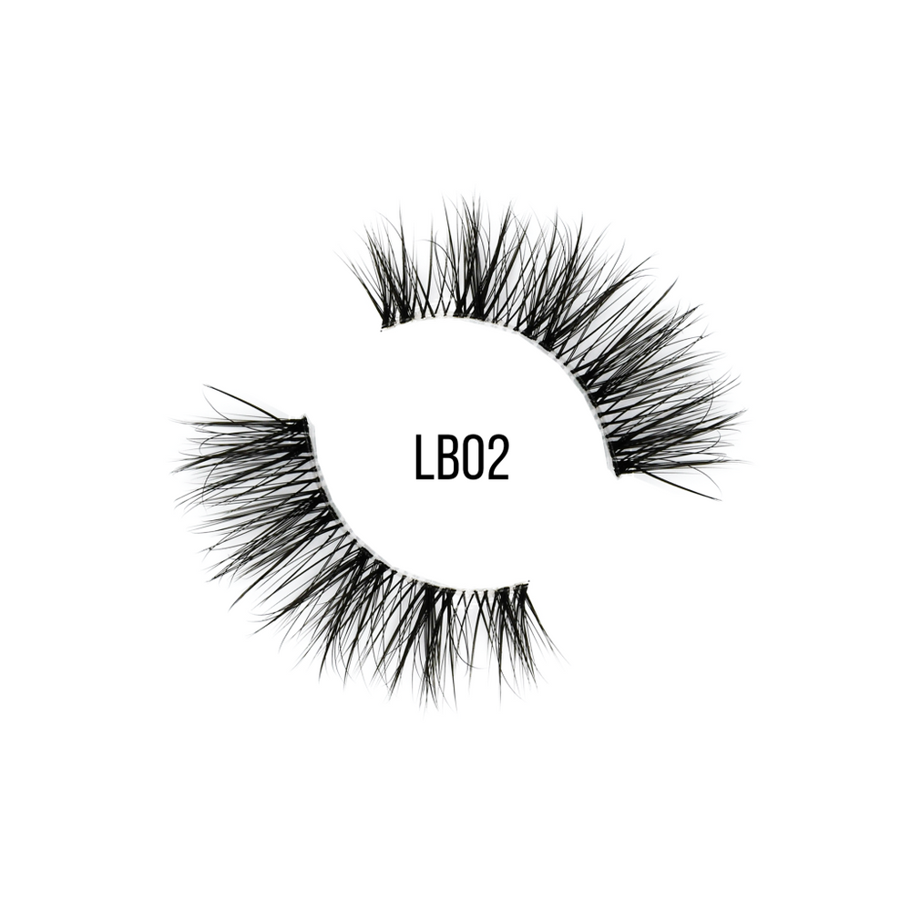 Dollschino London LashBase LB02 Natural Strip Lashes