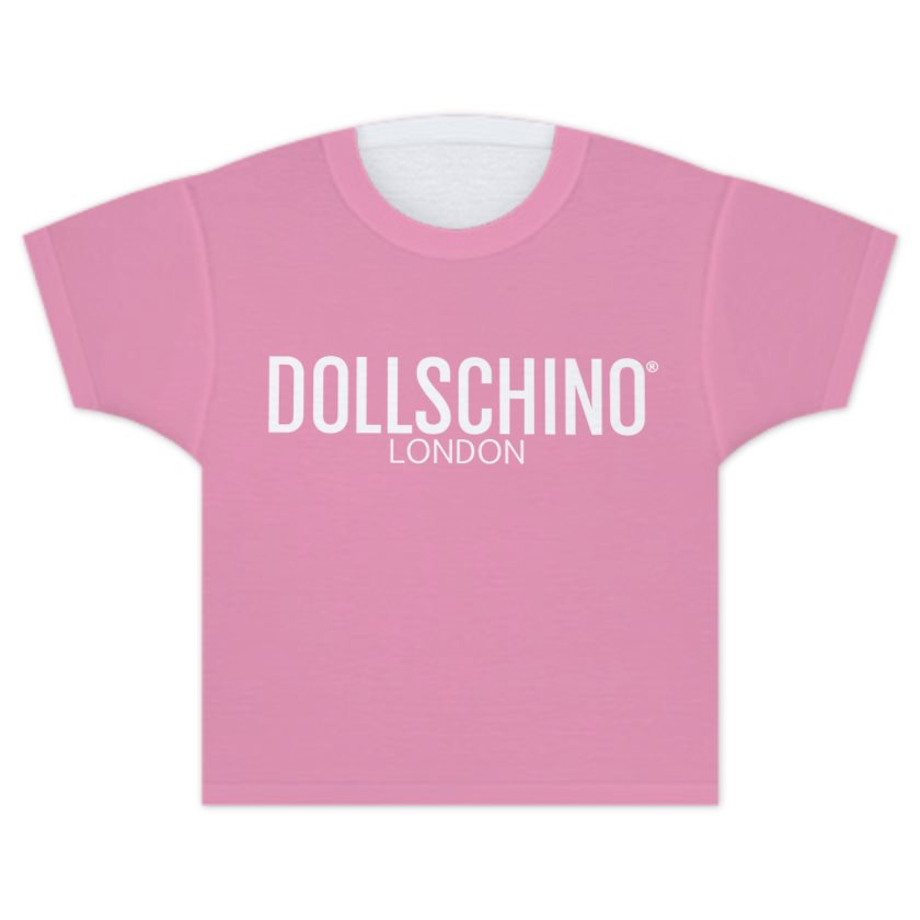 Baby Pink Dollschino London T-Shirt