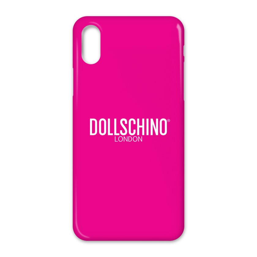 Dollschino London Hot Pink iPhone Case