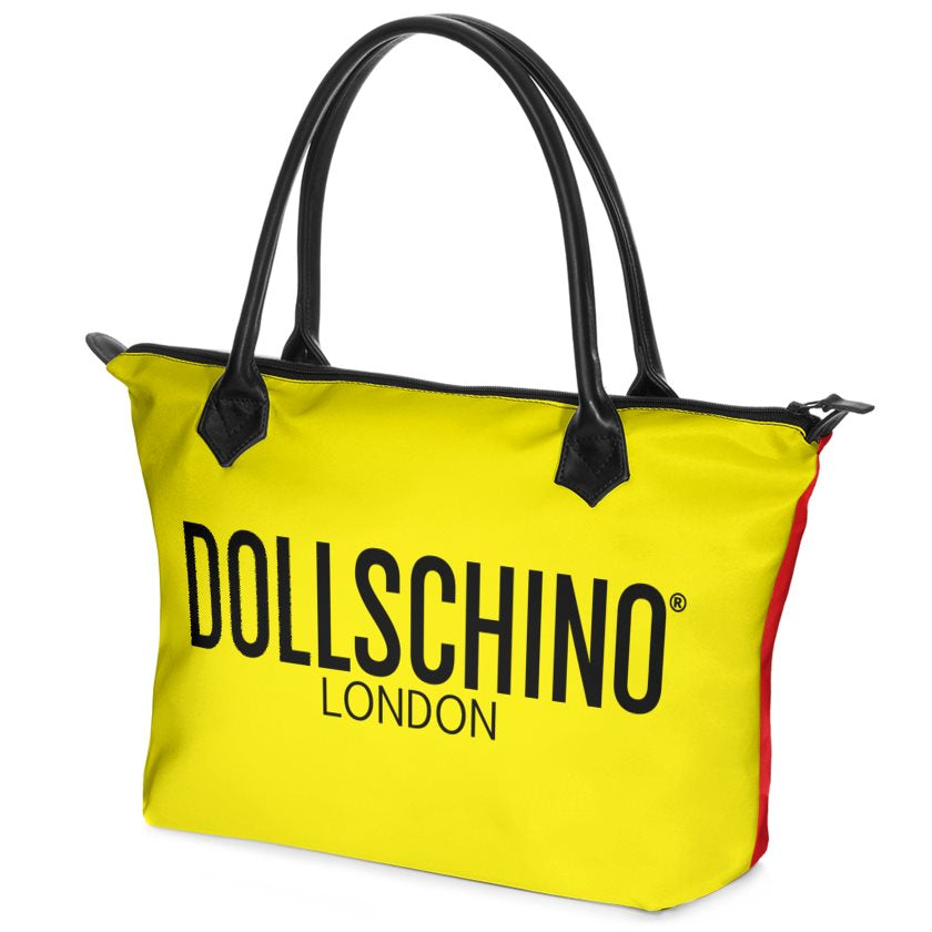 Mustard & Red Dollschino Handbag