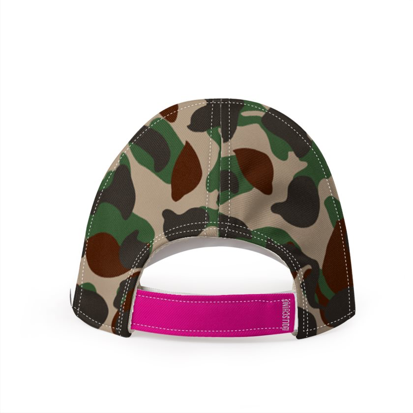 Dollschino London Camo Baseball Cap