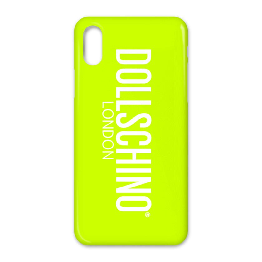 Dollschino London Lime Graffiti iPhone Case