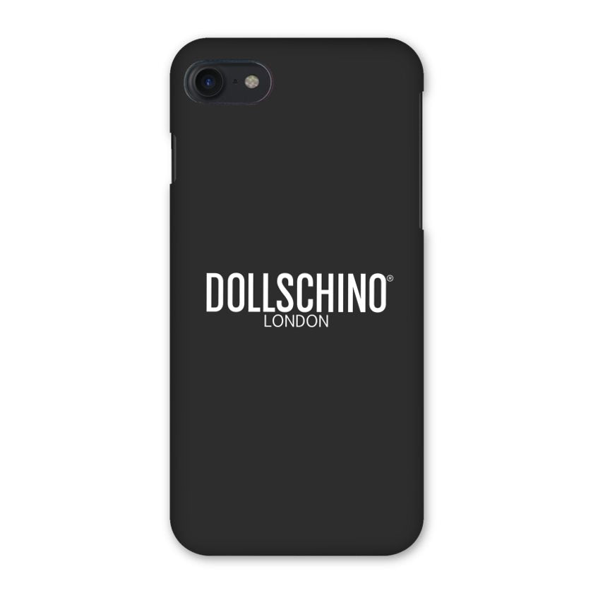 Dollschino London Black iPhone Case