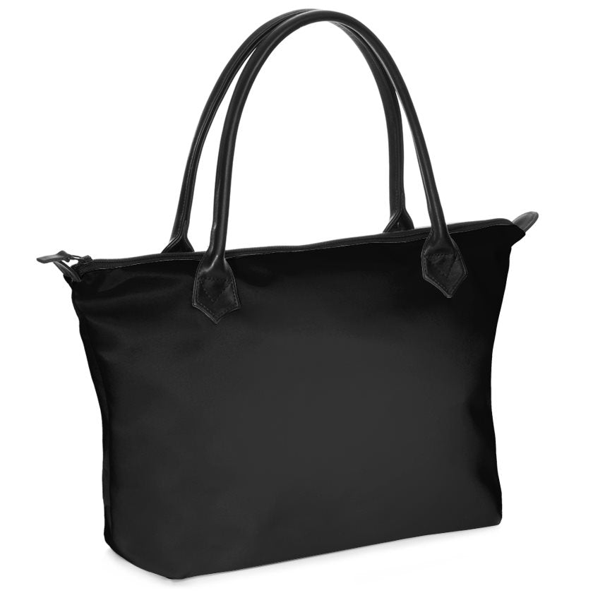 Dollschino London Jet Black Handbag