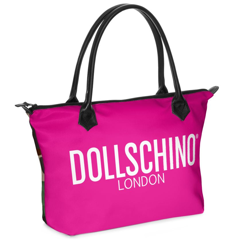 Camo & Hot Pink Dollschino London Handbag