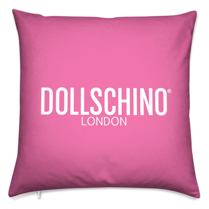 Dollschino London Bubblegum Pink Cushion