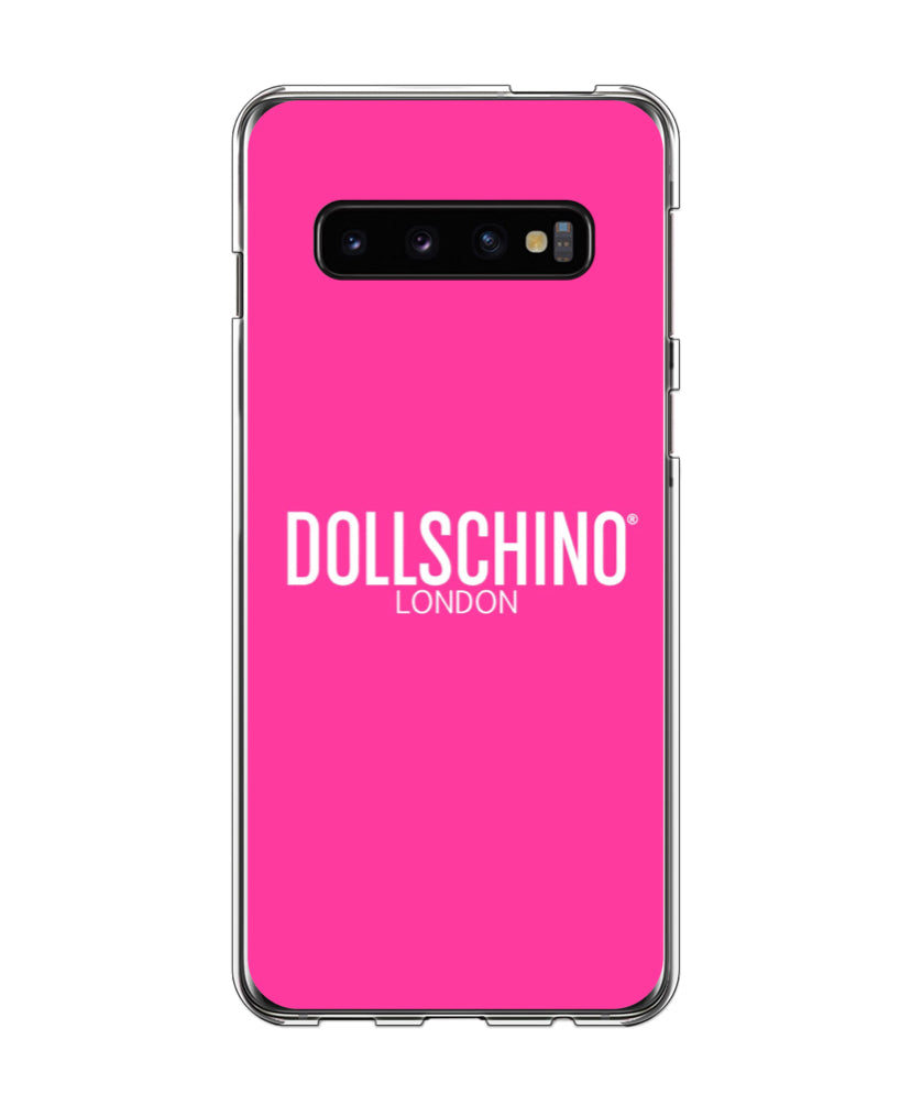 Dollschino London Bubblegum Pink Silicone Samsung Case