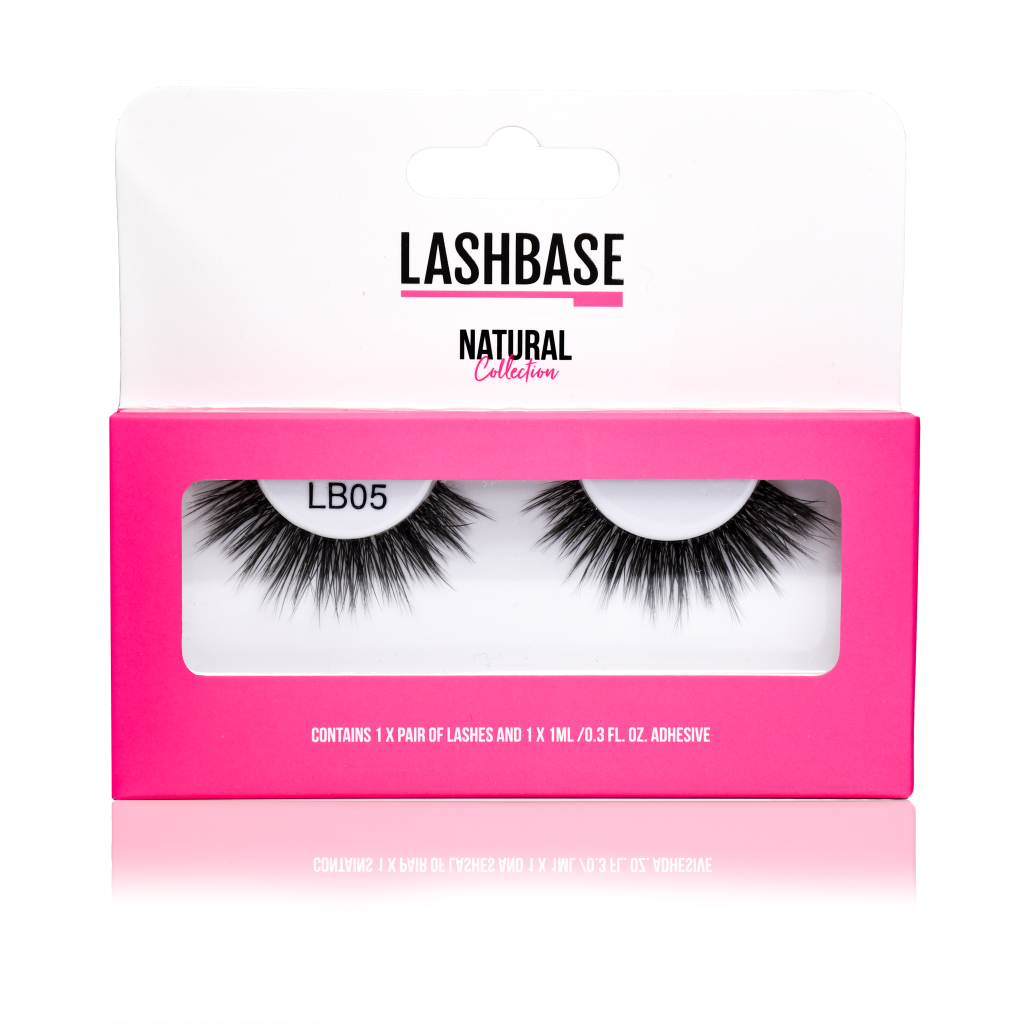 LashBase LB05 Natural Strip Lashes
