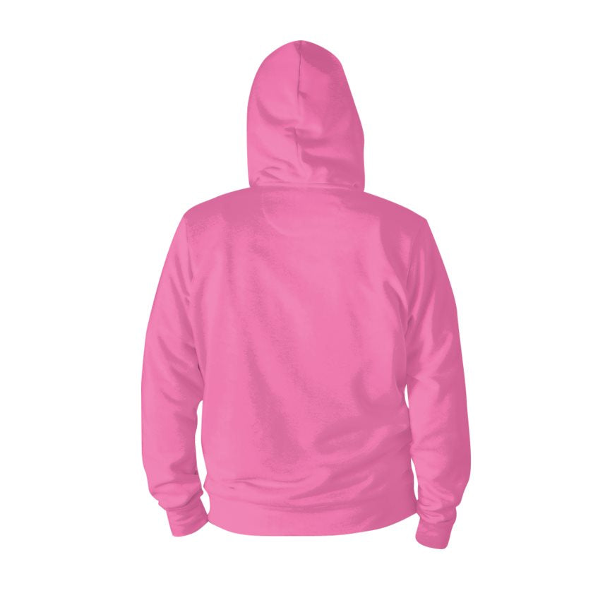 Dollschino London Bubblegum Pink Zip Hoodie