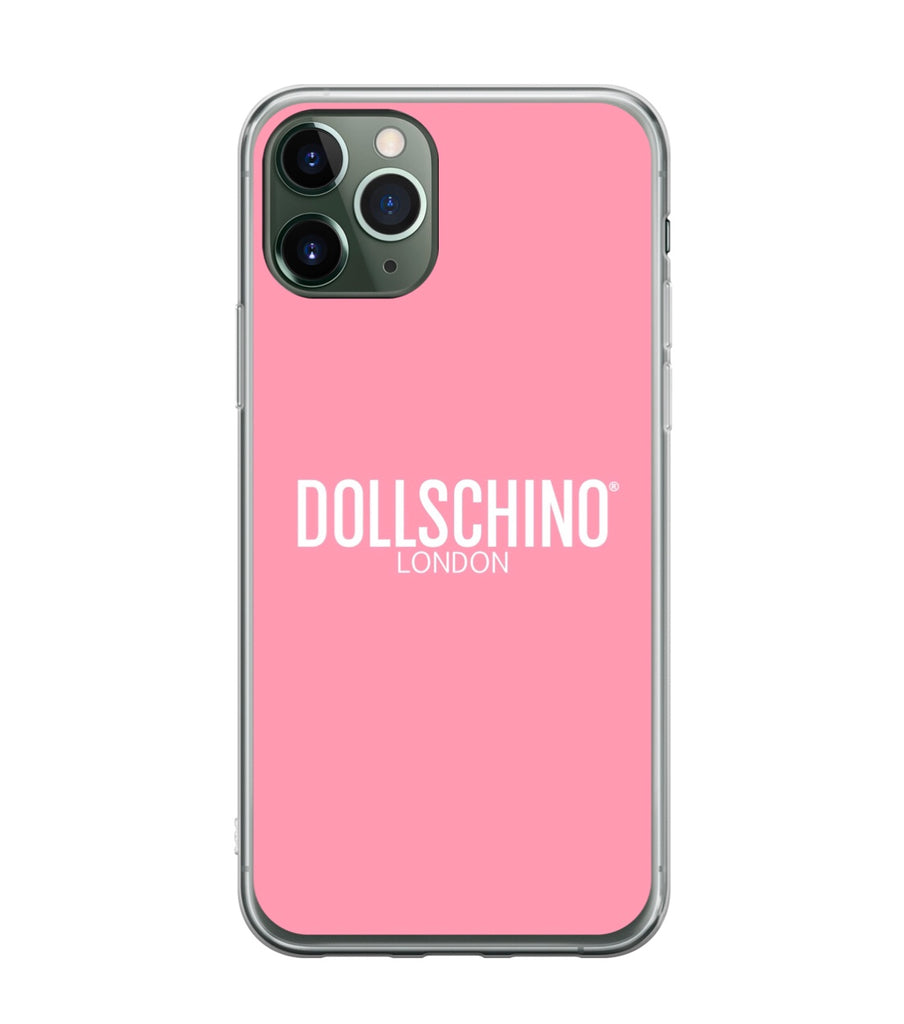 Dollschino London Baby Pink Silicone iPhone Case