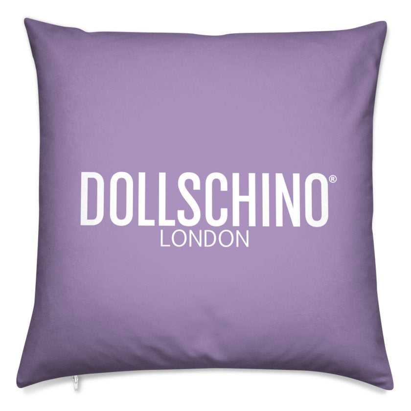 Dollschino London Purple Cushion