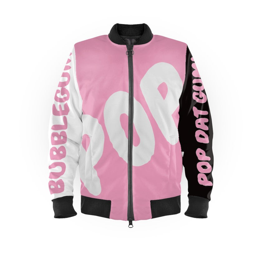 GHETTO Graffiti POP Dat Bubblegum Bomber Jacket (Limited Edition)