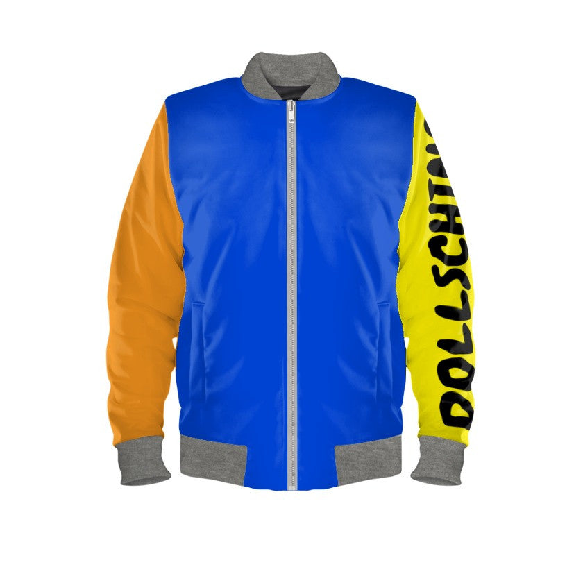 Tangy Jaffa Orange & Lemon Pop Art Bomber Jacket