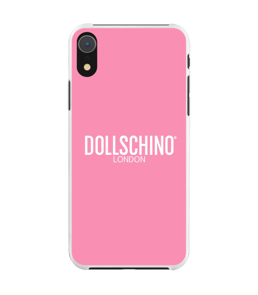 Dollschino London Rose Pink Silicone iPhone Case