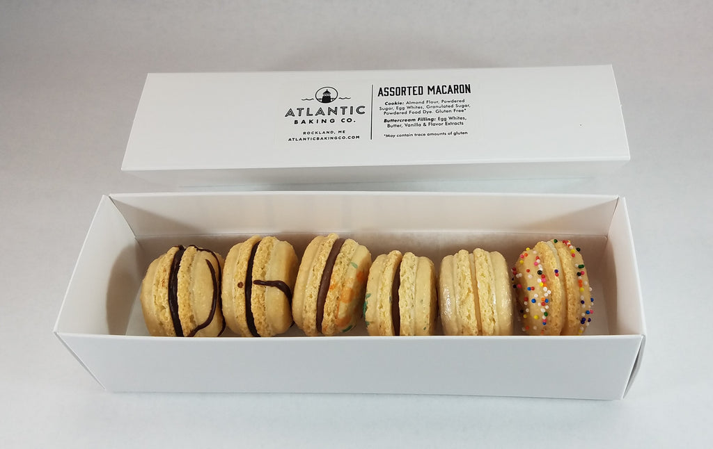 Assorted Macarons - Box of Six