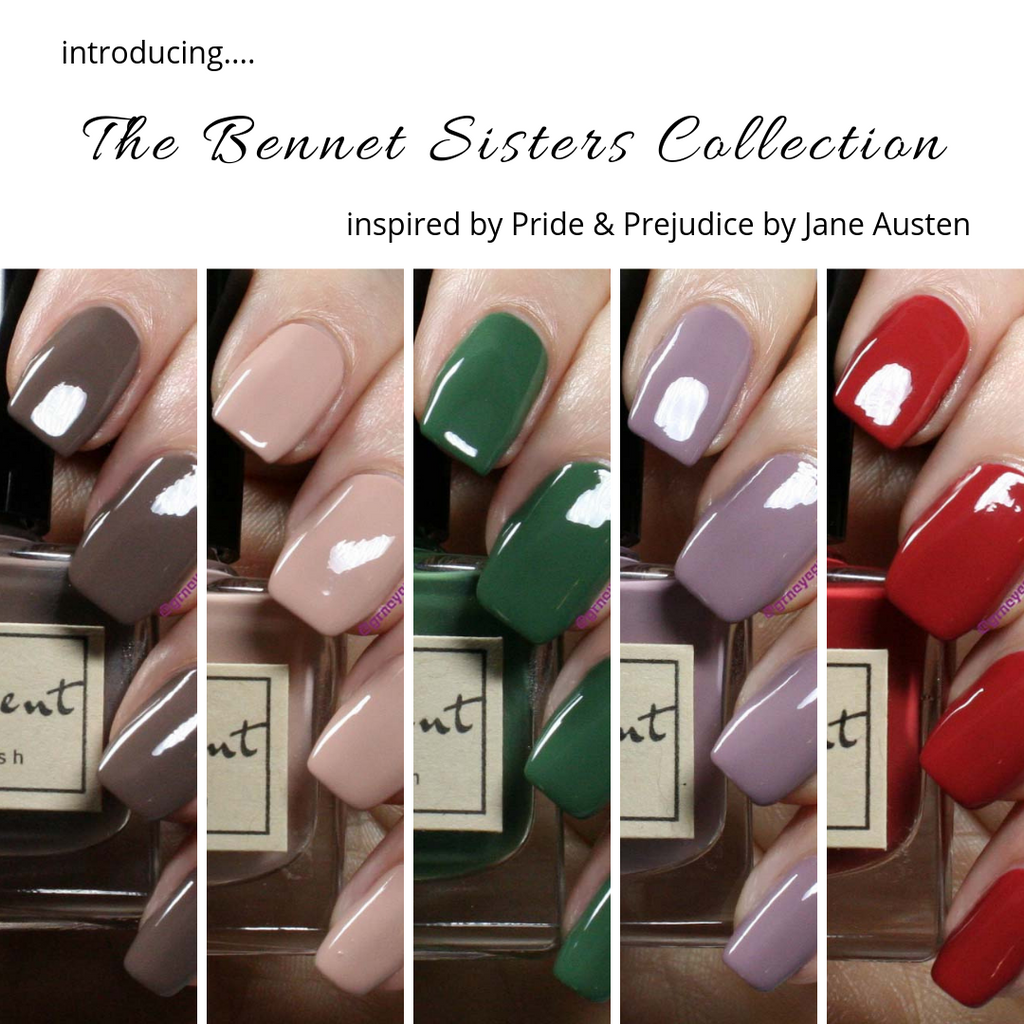 The Bennet Sisters Nail Polish Collection