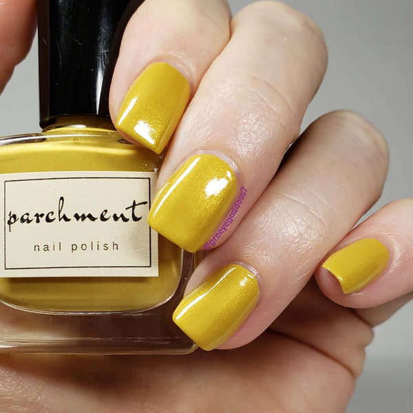 Gold Lamé  Nail Polish