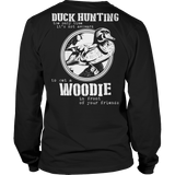 Duck Hunting And Woodies - Ladies T-shirt