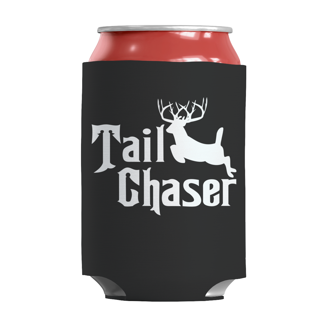 Deer - Tail Chaser - Can Koozie