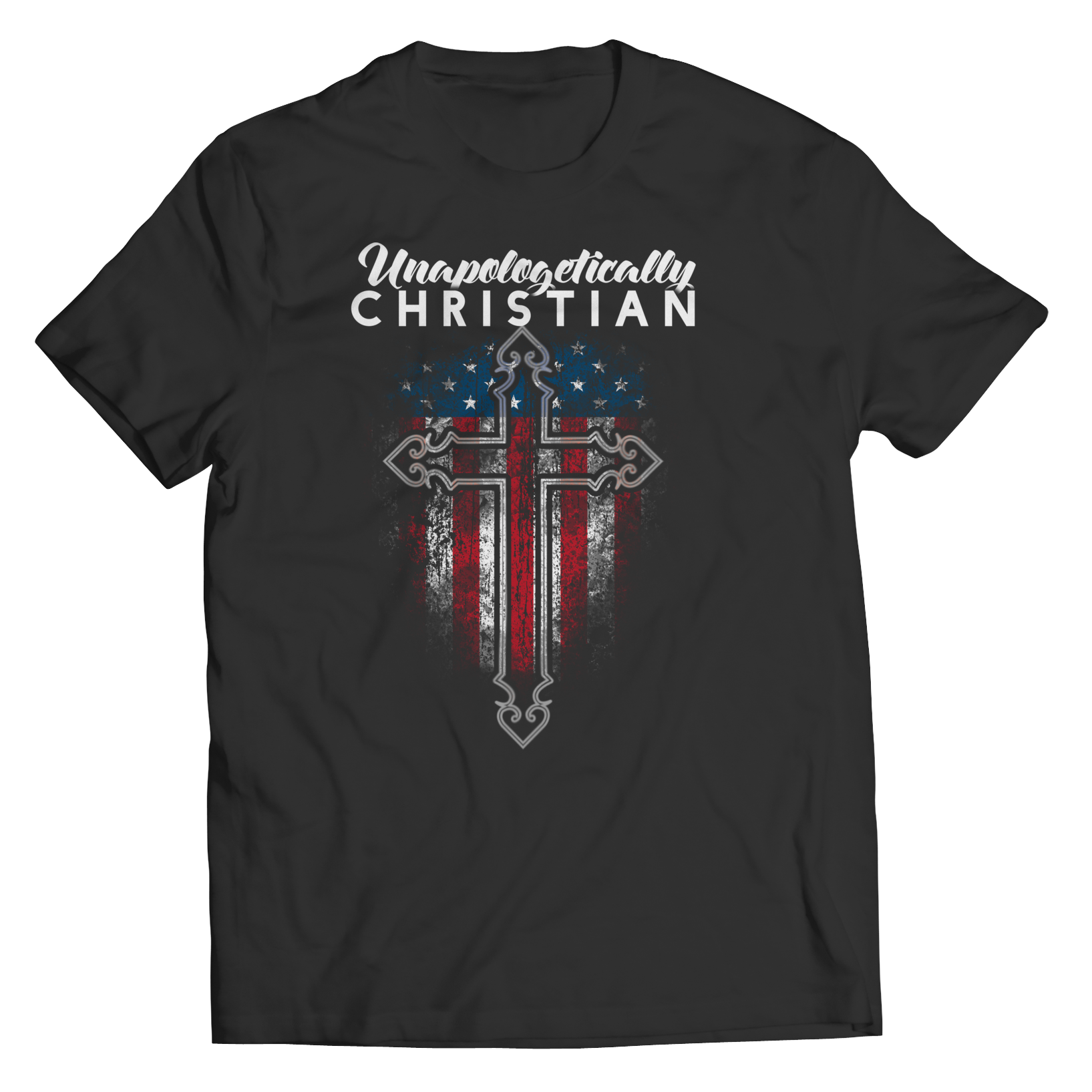 Unapologetically Christian Unisex Shirt - Black